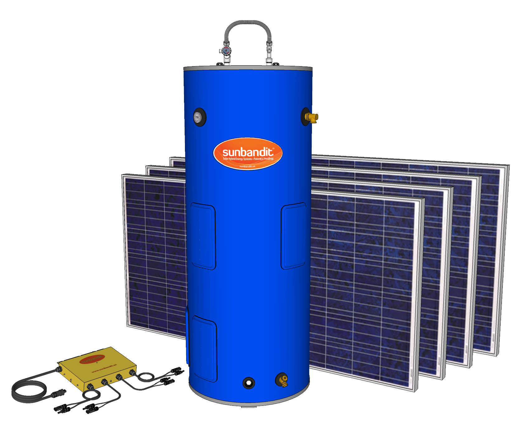Johnson Melloh Sun Bandit Solar Water Heater Tank