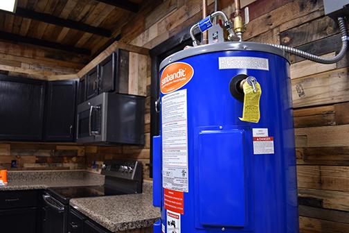 Johnson Melloh SunBandit Solar Hot Water Tank