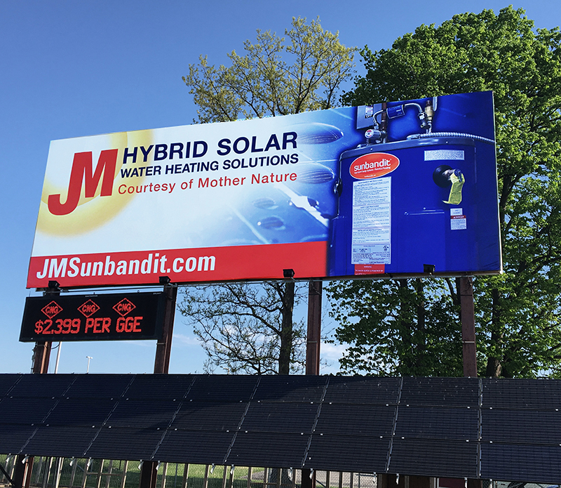 Solar Water Heater System from Johnson-Melloh, Indianapolis